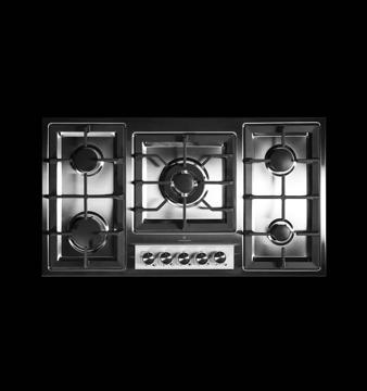 تصویر از اجاق گاز 5 شعله رو میزی استیل مدل 930